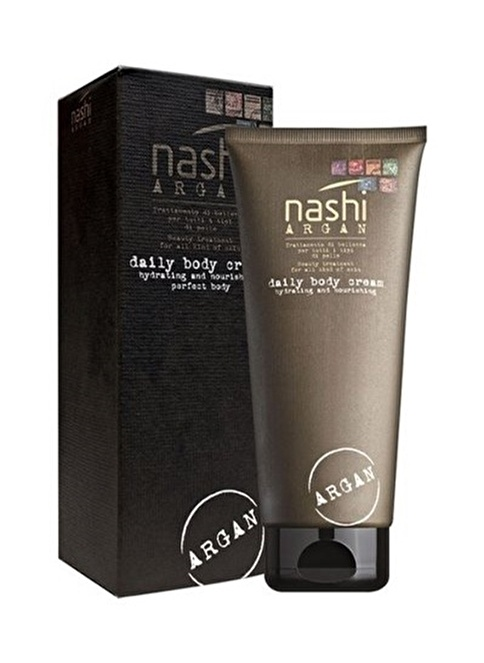Nashi Argan Daily Body Cream 200 Ml Renksiz